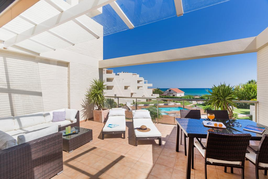 Tierra de Mar 35, Holiday house in Denia, on the Costa Blanca, Spain  with communal pool for 4 persons.....