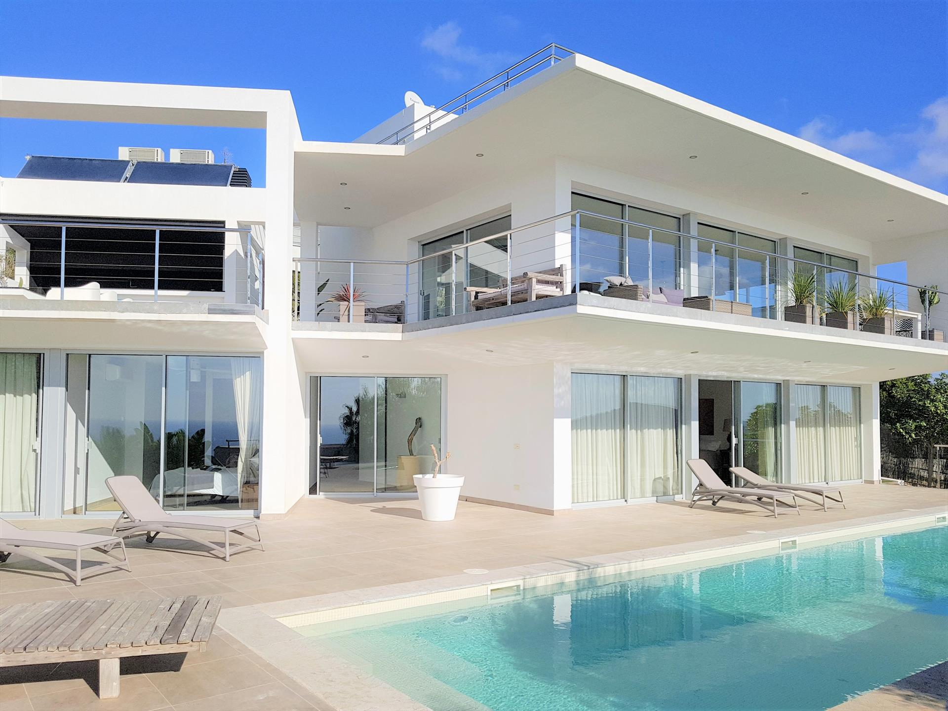Vista Elisabeth, Large villa  with private pool in Es Cubells, Ibiza, Spain for 6 persons...