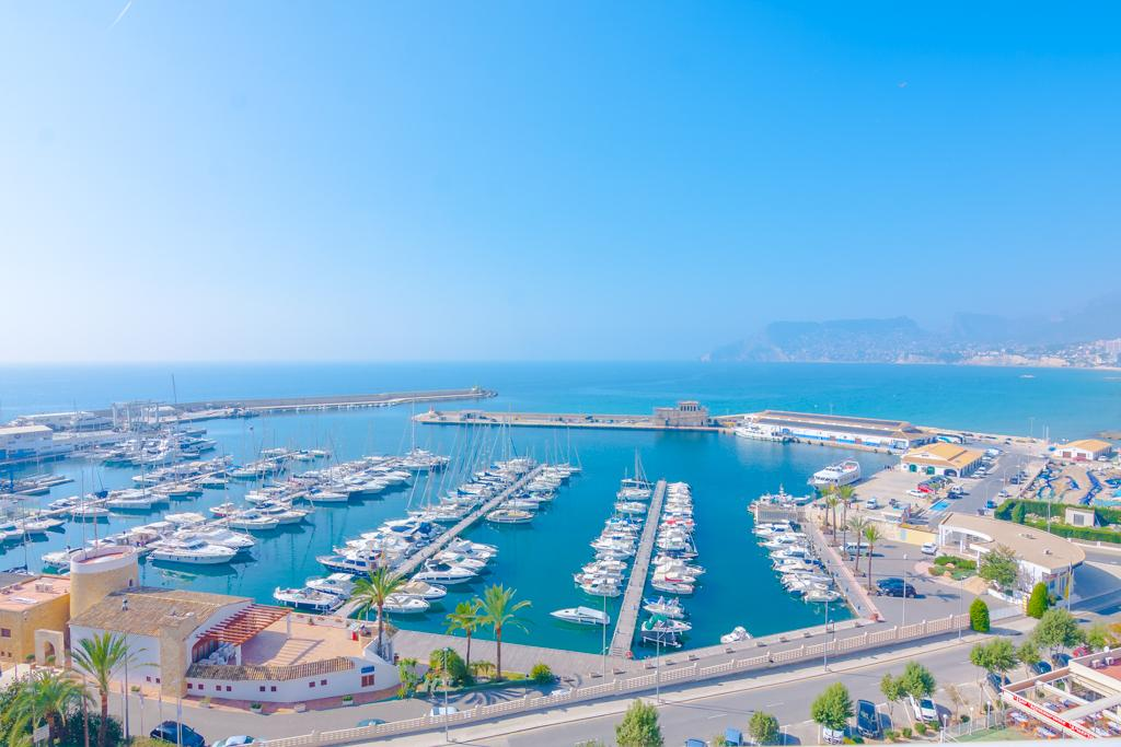 Nautico I 4, Lovely and nice apartment  with communal pool in Calpe, on the Costa Blanca, Spain for 4 persons...