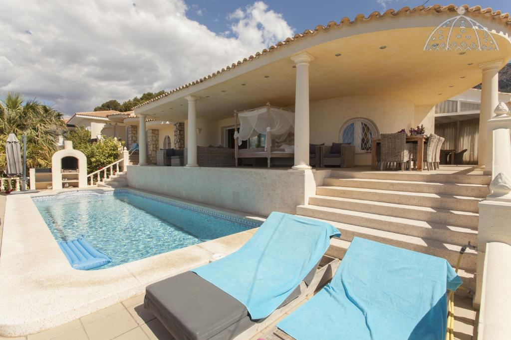 El Greco 6, Lovely and luxury villa  with private pool in Altea, on the Costa Blanca, Spain for 6 persons.....