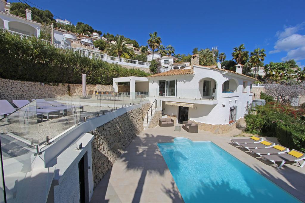 Villa Maran LT, Lovely and comfortable villa in Moraira, on the Costa Blanca, Spain  with private pool for 10 persons.....
