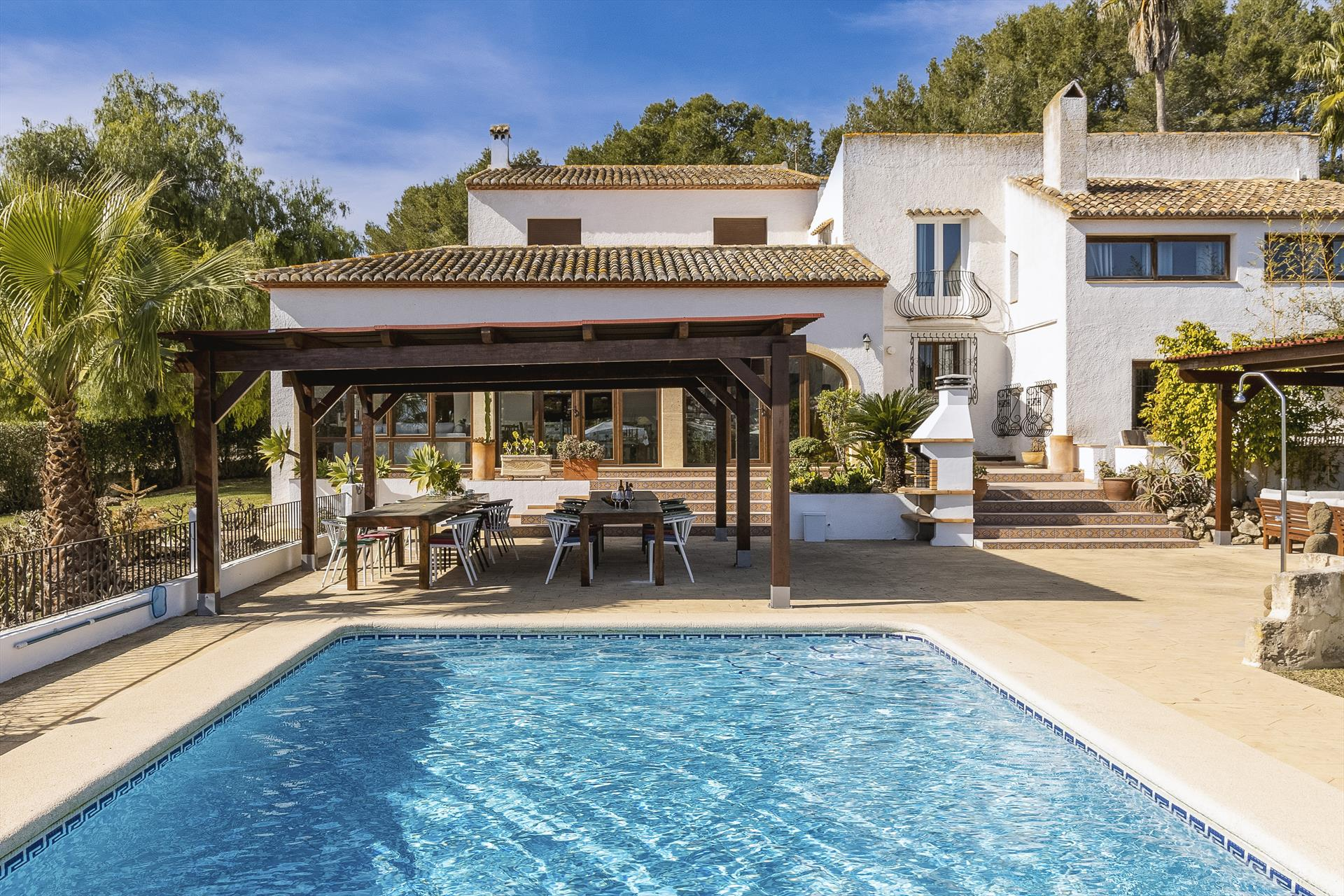 Casa Rosalia 16 pax, Wonderful and classic villa  with private pool in Javea, on the Costa Blanca, Spain for 16 persons...