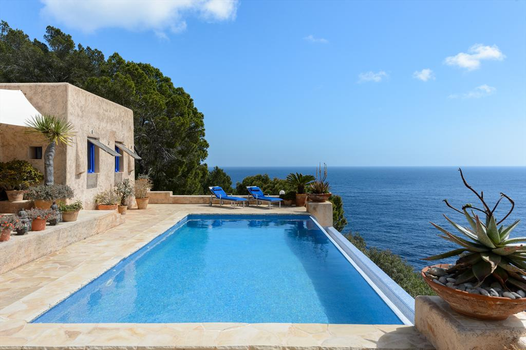 Can Myriam, Villa  with private pool in Cala San Vicente, Ibiza, Spain for 8 persons...