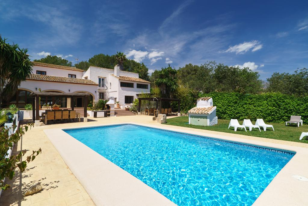 Casa Rosalia 4 pax, Large and comfortable villa  with private pool in Javea, on the Costa Blanca, Spain for 4 persons...
