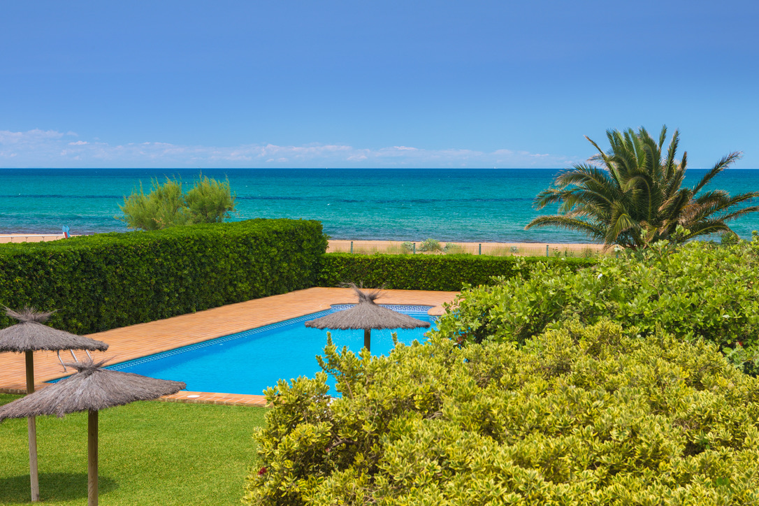 Las Dunas 02, Apartment  with communal pool in Denia, on the Costa Blanca, Spain for 4 persons.....