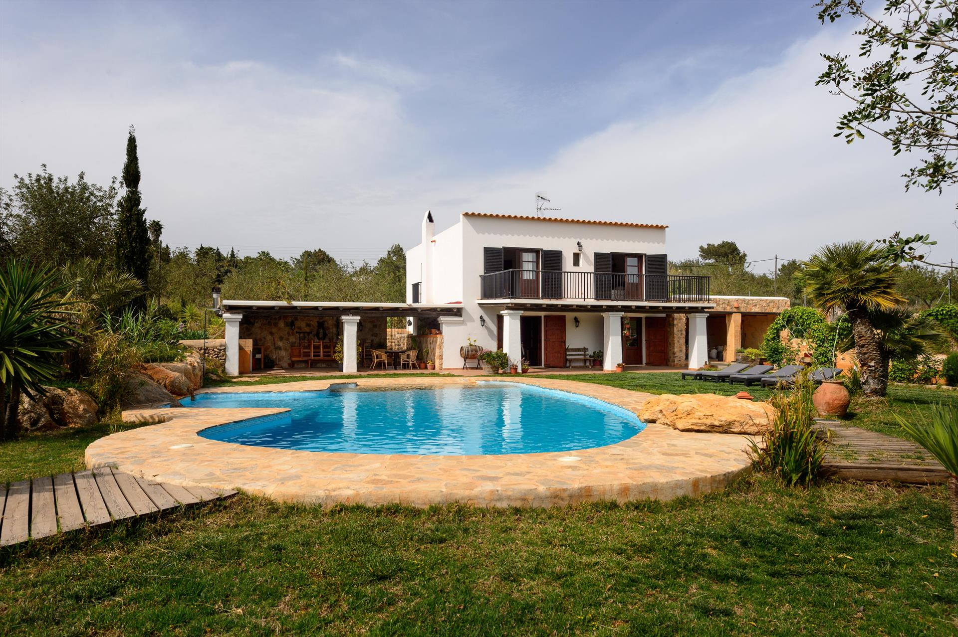 Es Coixet, Villa  with private pool in San Rafael, Ibiza, Spain for 6 persons...