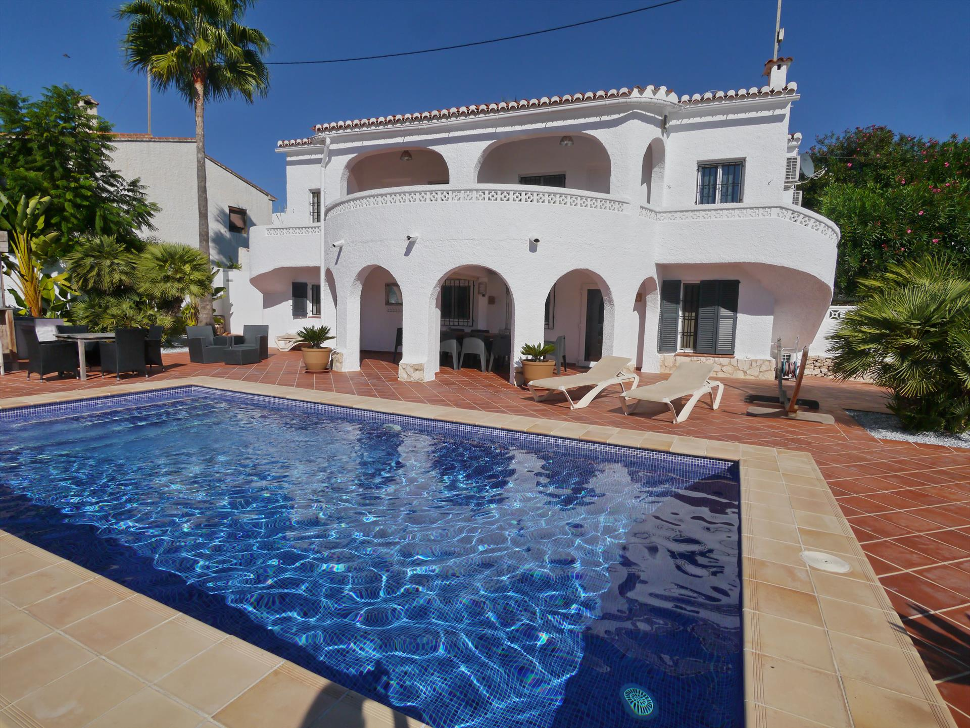 Thiago, Wonderful and comfortable villa in Benissa, on the Costa Blanca, Spain with private pool for 8 persons. The villa is situated.....