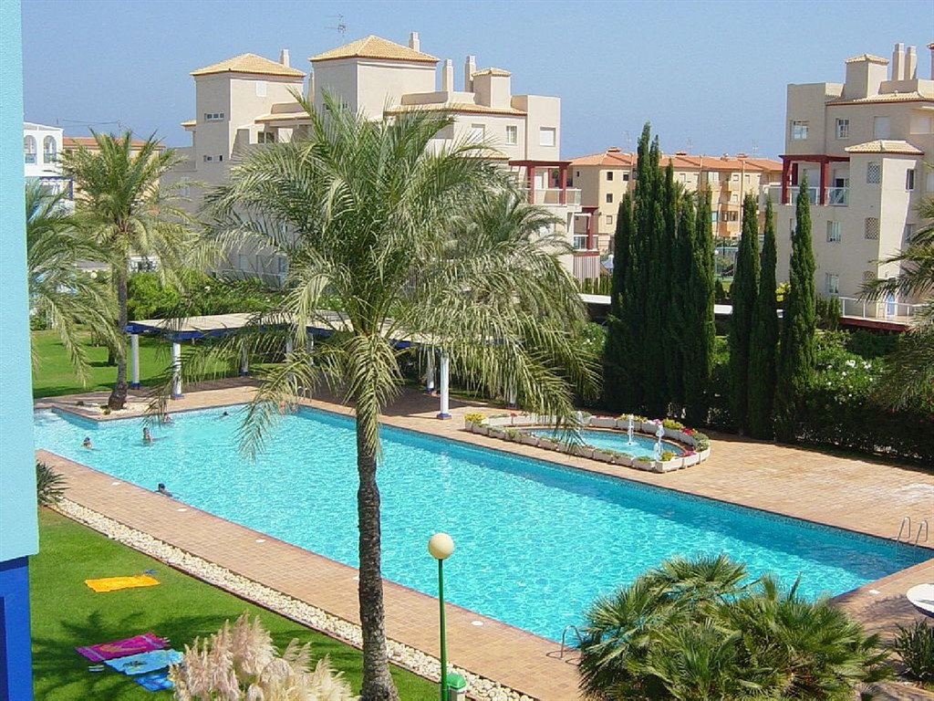 AP2110 Grandes Terrazas a 100m de la Playa, Beautiful and comfortable apartment in Denia, on the Costa Blanca, Spain  with communal pool for 4 persons.....