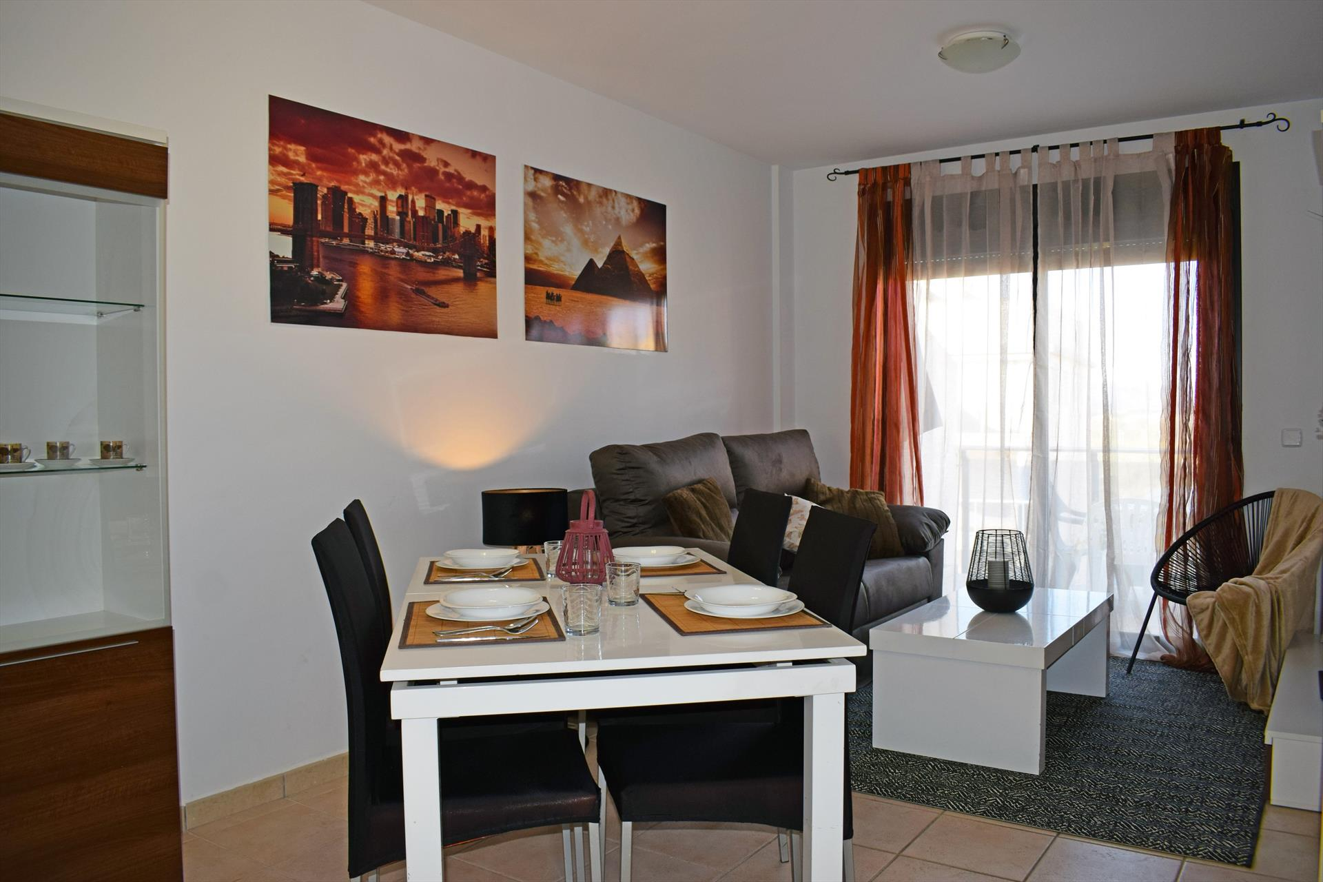 AT15, Lovely and nice holiday house in Bellreguard, on the Costa Blanca, Spain  with communal pool for 4 persons.....