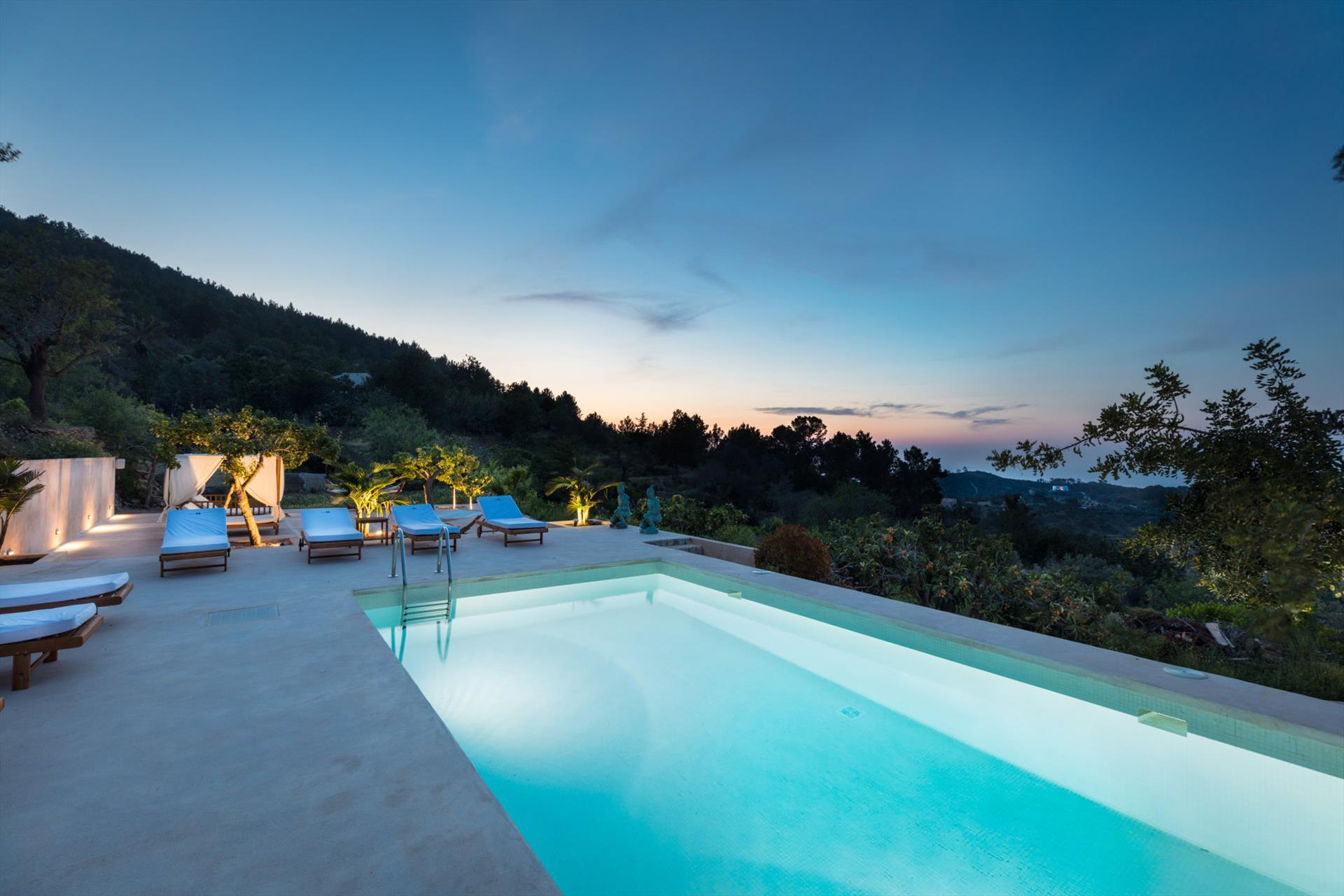 Can Roi, Large villa  with private pool in Portinax, Ibiza, Spain for 10 persons...