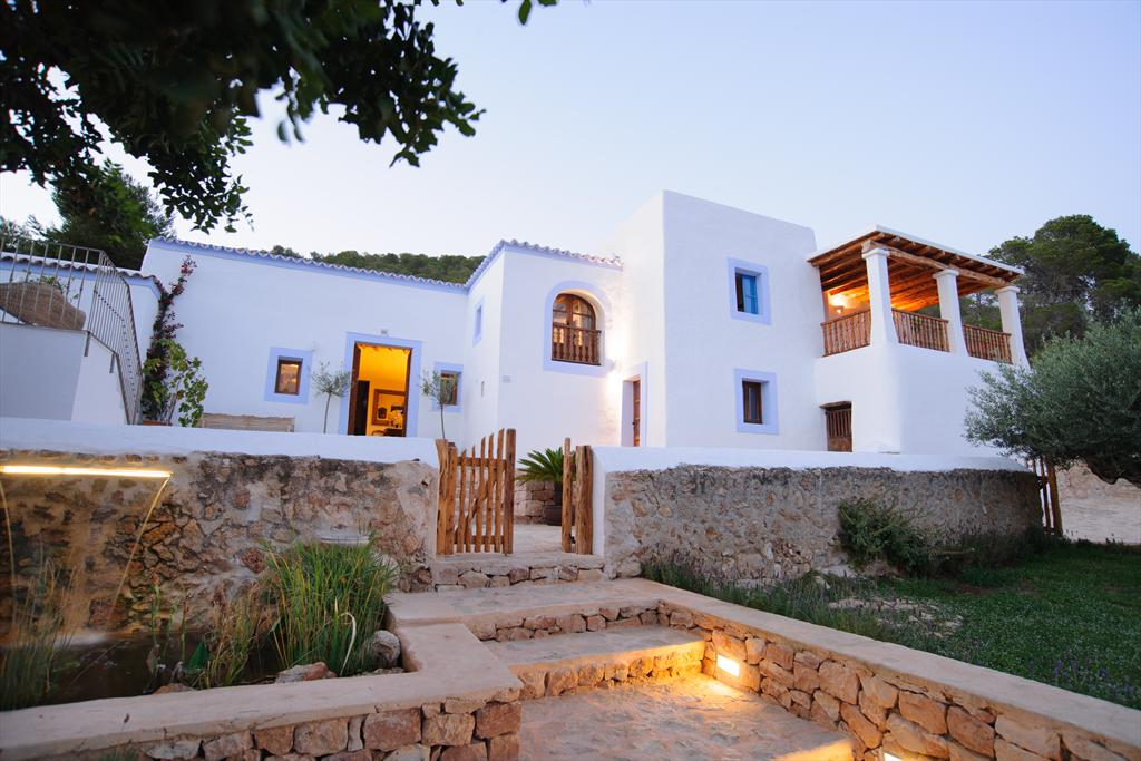 Can Capella, Large villa  with private pool in San Antonio, Ibiza, Spain for 12 persons...