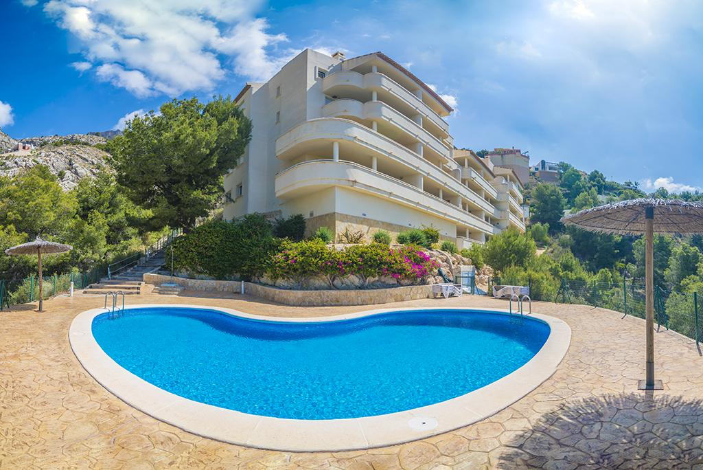 Mar Azul 4, Modern and comfortable apartment in Altea, on the Costa Blanca, Spain  with communal pool for 4 persons...