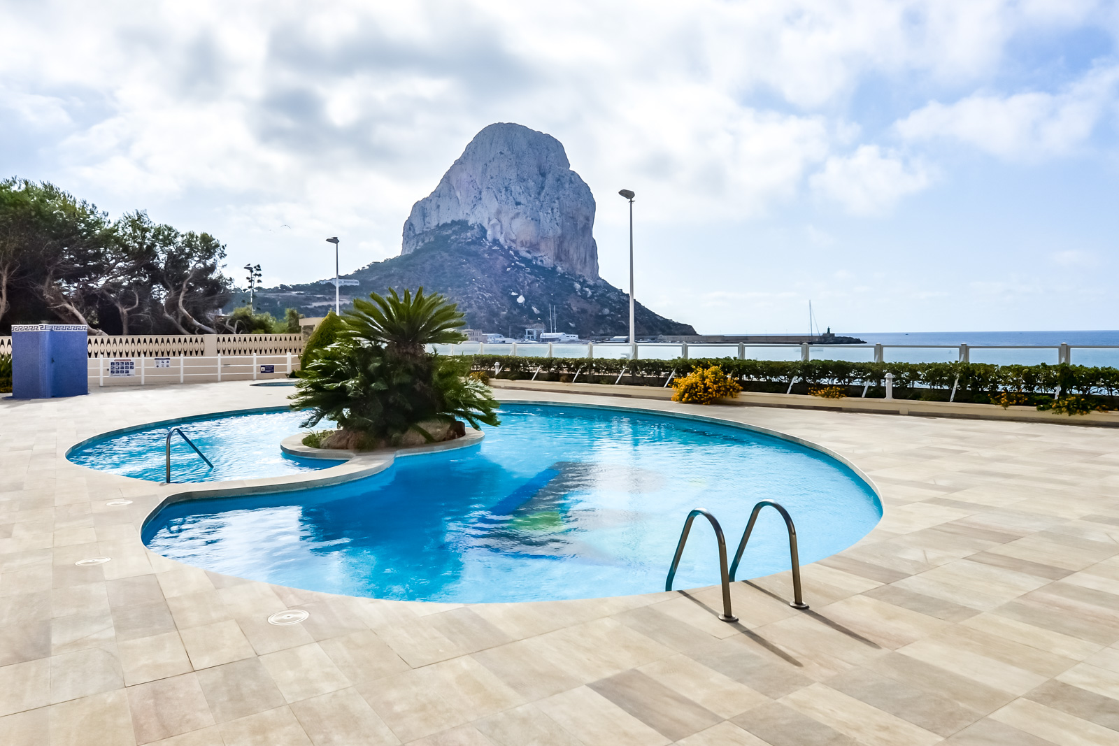Apartamento Rubino 4B, Apartment  with communal pool in Calpe, on the Costa Blanca, Spain for 3 persons.....