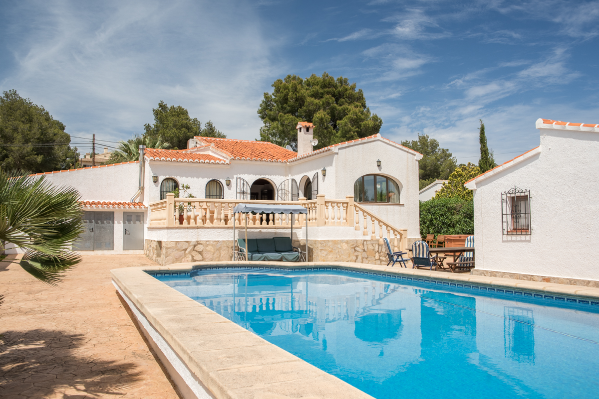 Casa Virginia 6 pax, Wonderful and comfortable villa  with private pool in Javea, on the Costa Blanca, Spain for 6 persons.....