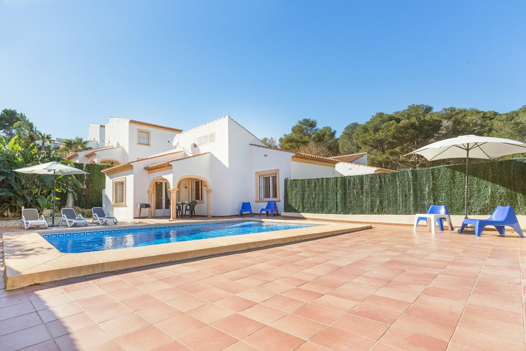 Monte Rojo 2 pax, Classic and nice holiday home  with private pool in Javea, on the Costa Blanca, Spain for 2 persons...