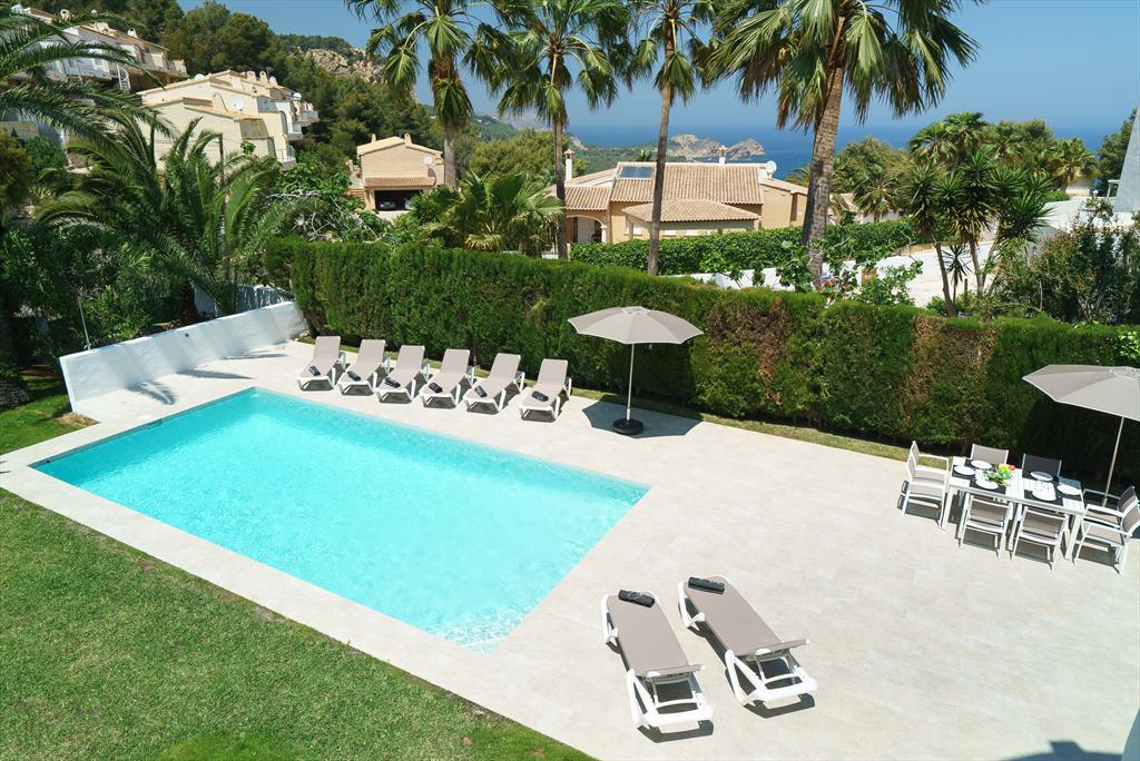 Lucia 4 pax, Large and nice villa  with private pool in Javea, on the Costa Blanca, Spain for 4 persons...