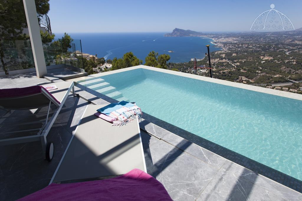 Altea Gales, Holiday house  with private pool in Altea, on the Costa Blanca, Spain for 4 persons.....