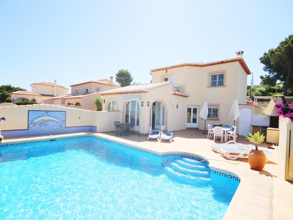 Gafarro, Beautiful and comfortable villa in Javea, on the Costa Blanca, Spain  with private pool for 6 persons.....