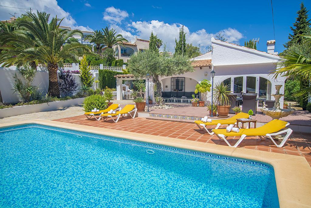 Iluminada 6, Villa  with private pool in Benissa, on the Costa Blanca, Spain for 6 persons.....