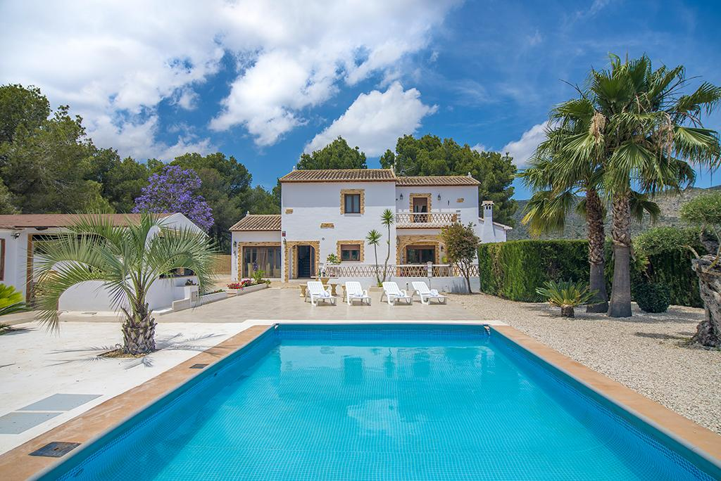 Aloha 8, Villa  with private pool in Teulada, on the Costa Blanca, Spain for 8 persons.....