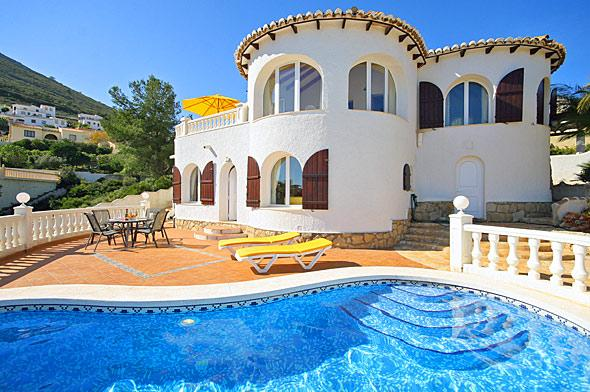 Casa Mia, Beautiful and classic villa  with private pool in Javea, on the Costa Blanca, Spain for 6 persons.....