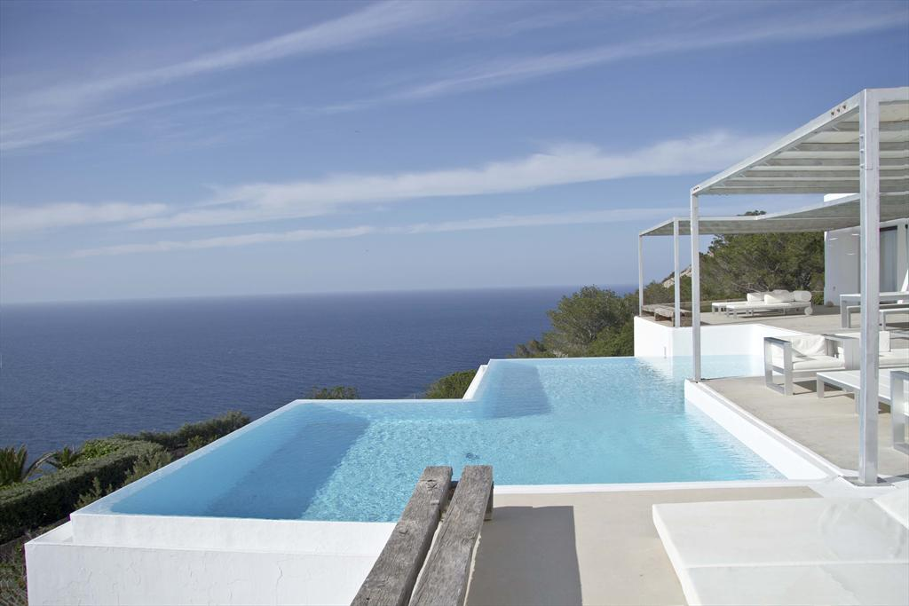 Blue, Large and luxury villa  with private pool in San Miguel, Ibiza, Spain for 16 persons...
