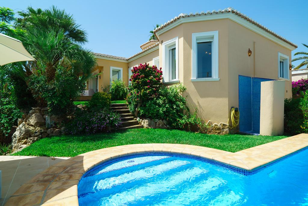 La Menta, Beautiful and comfortable villa  with private pool in Javea, on the Costa Blanca, Spain for 6 persons.....