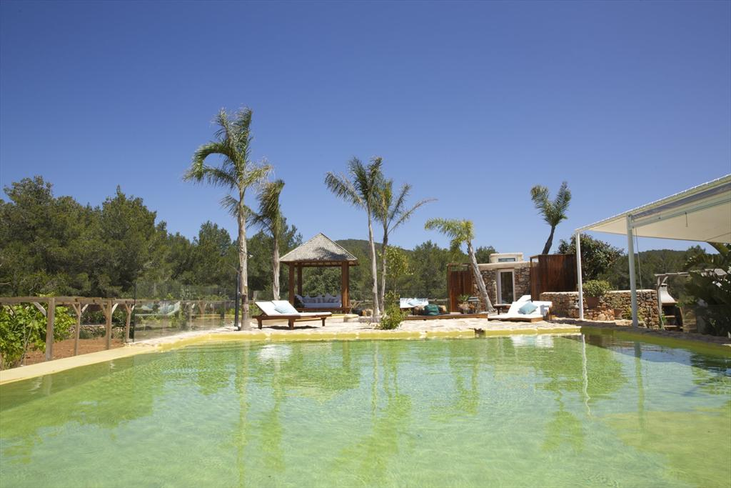 Pozo,Rustic and cheerful villa  with private pool in San Miguel, Ibiza, Spain for 6 persons...