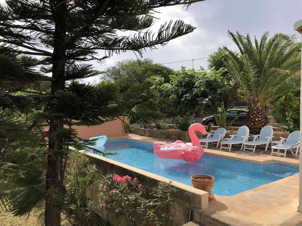 Paloma,Villa maravillosa y acogedora  con piscina privada en Javea, en la Costa Blanca, España para 8 personas.....