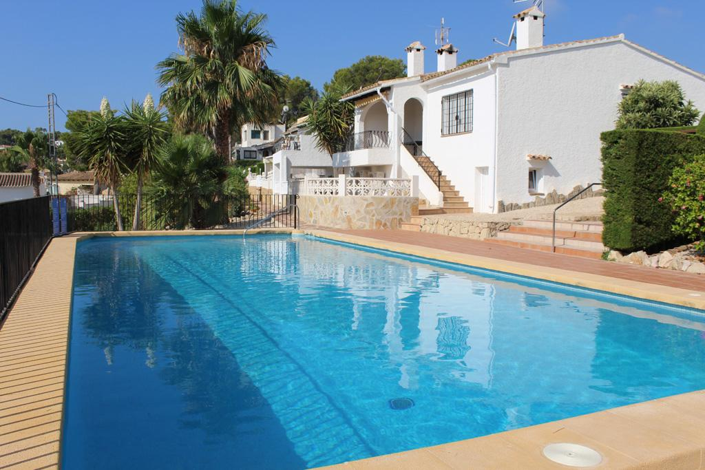 PANAMA PARK, Holiday home in Moraira, on the Costa Blanca, Spain  with communal pool for 6 persons...