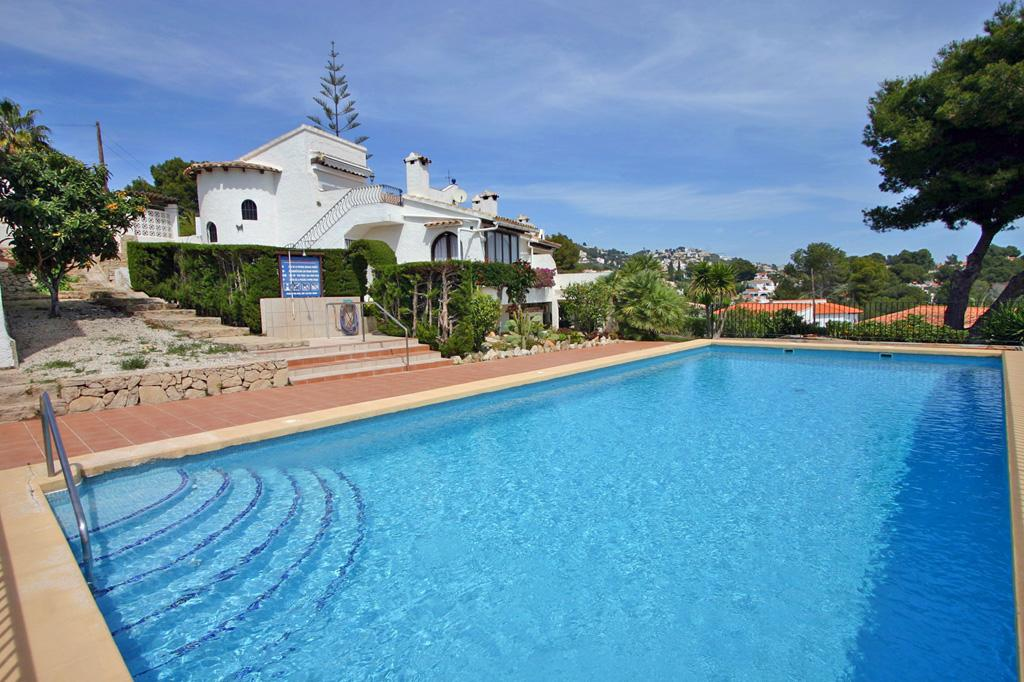Casa Panama Park 4, Holiday home  with communal pool in Moraira, on the Costa Blanca, Spain for 4 persons...