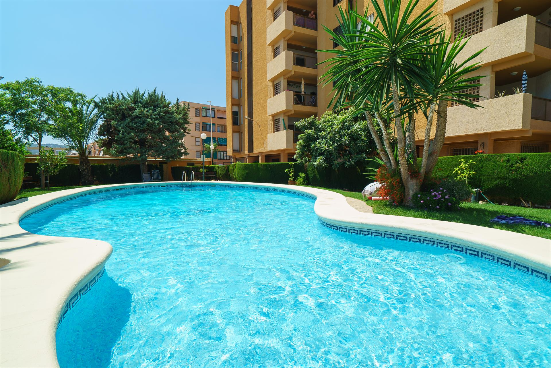 Arenal Playa, Beautiful and cheerful apartment in Javea, on the Costa Blanca, Spain for 6 persons.....