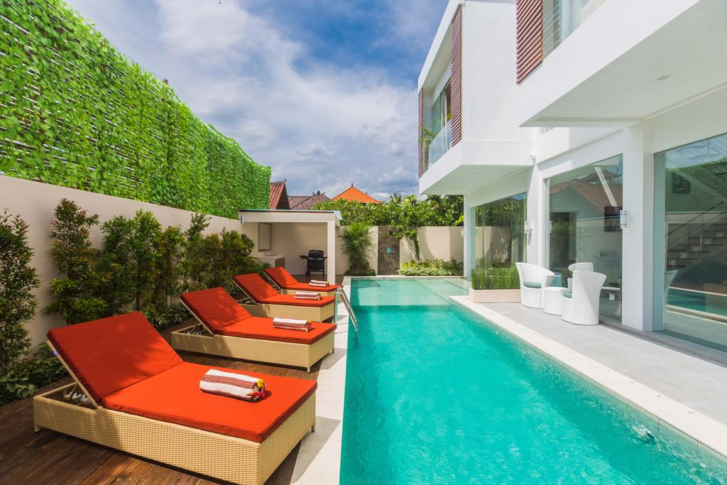 Serenity 3BR, Large and cheerful villa  with private pool in Seminyak, Bali, Indonesia for 6 persons...