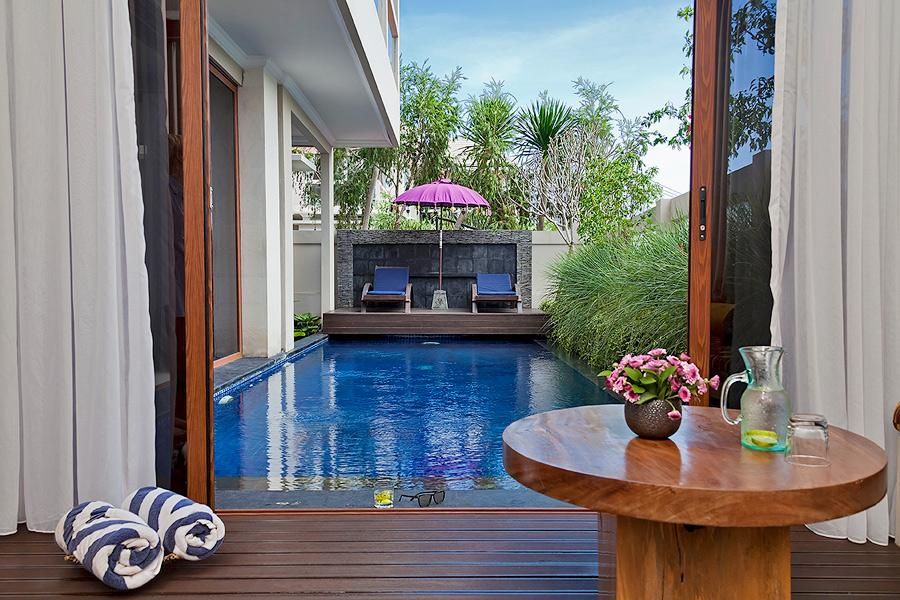 Sky House 2BR, Lovely and luxury villa in Jimbaran, Bali, Indonesia  with private pool for 4 persons...