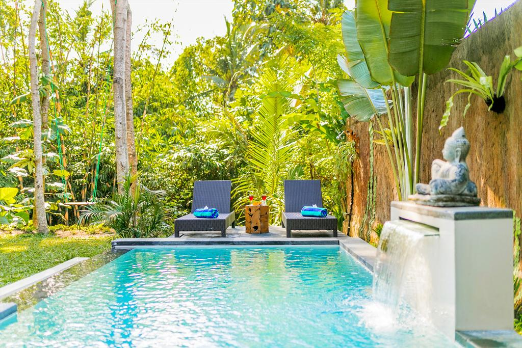Kasava 1 2BR, Beautiful and cheerful villa in Ubud, Bali, Indonesia  with private pool for 4 persons...