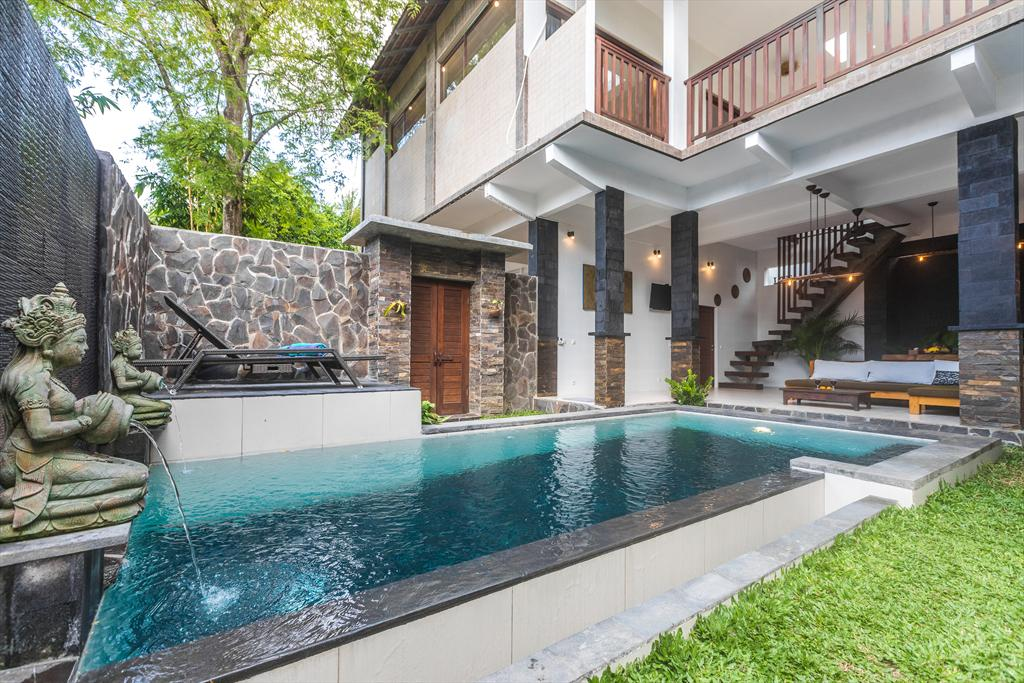 Kasava 2 3BR, Large and nice villa in Ubud, Bali, Indonesia  with private pool for 6 persons...