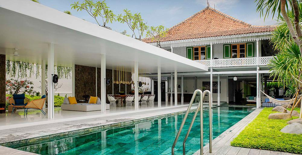 Villa 1880,Prachtige en luxe villa in Seminyak, op Bali, Indonesië  met privé zwembad voor 10 personen...