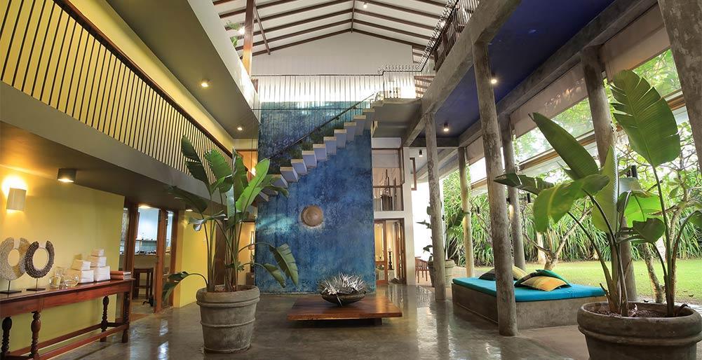 Saffron Blue,Bella villa accogliente a Bali, Bali, in Indonesia  con piscina privata per 8 persone...