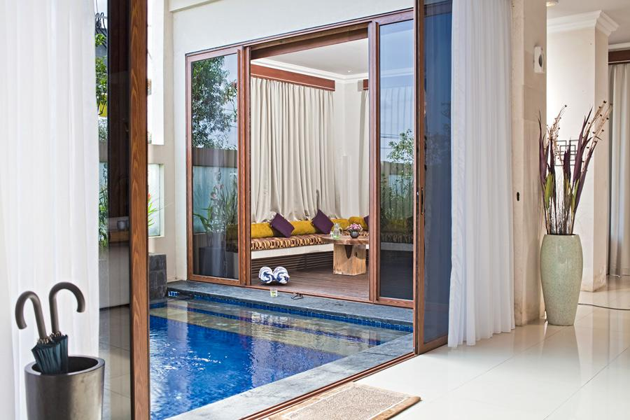 Sky House 1BR, Lovely and luxury villa  with private pool in Jimbaran, Bali, Indonesia for 2 persons...
