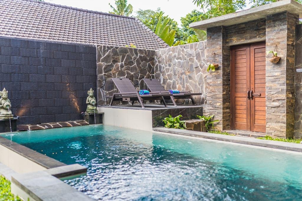 Kasava 2 2BR, Large and nice villa  with private pool in Ubud, Bali, Indonesia for 4 persons...