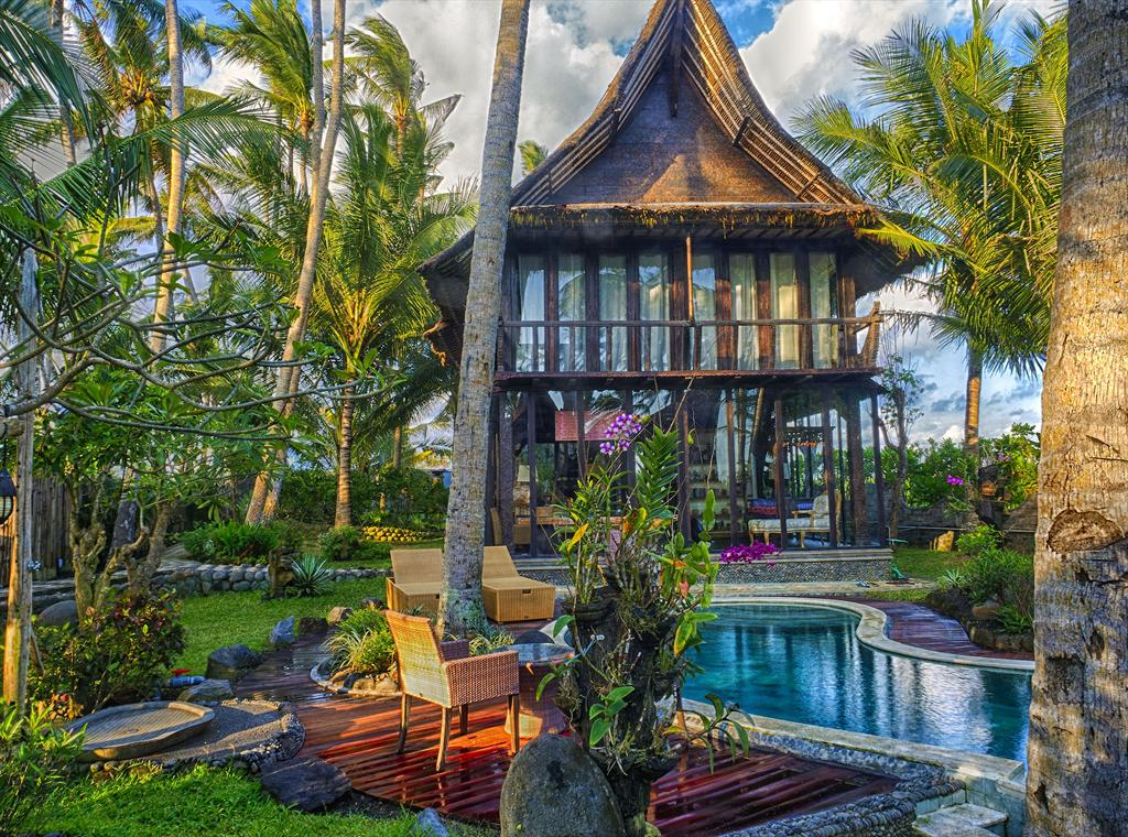 Keong 2BR, Rustic and luxury villa in Tabanan, Bali, Indonesia  with private pool for 4 persons...