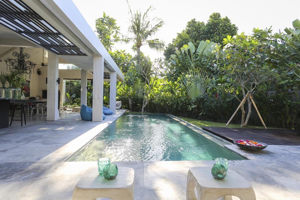 Prana 2BR,Large and cheerful villa  with private pool in Seminyak, Bali, Indonesia for 4 persons...