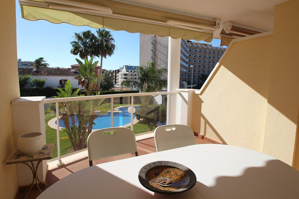 AP2215 Atlas Estrella de Mar, Beautiful and comfortable apartment  with communal pool in Denia, on the Costa Blanca, Spain for 5 persons.....