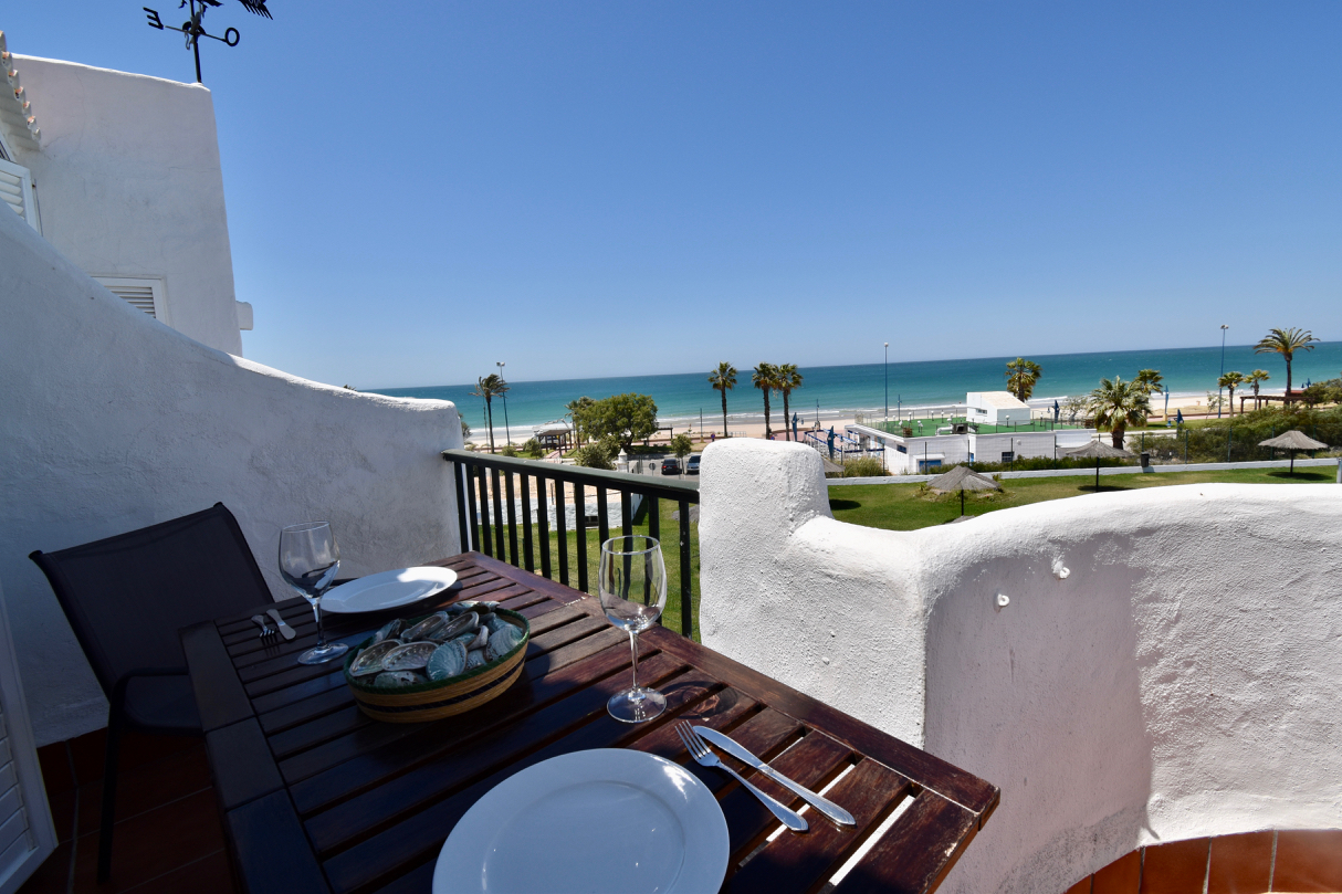 La Vista, Apartment in Chiclana de la Frontera, Andalusia, Spain  with communal pool for 4 persons.....