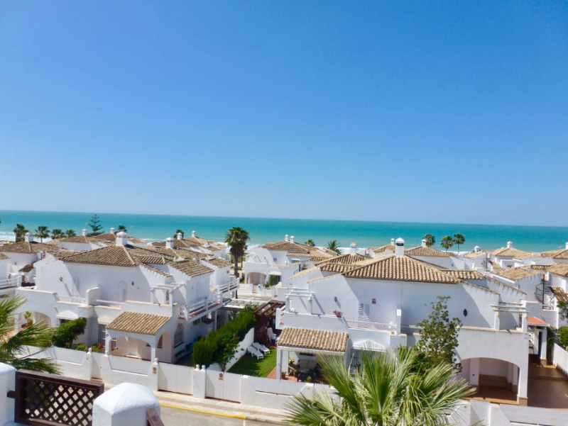 Complejo Atlantico, Apartment in Chiclana de la Frontera, Andalusia, Spain  with communal pool for 4 persons.....