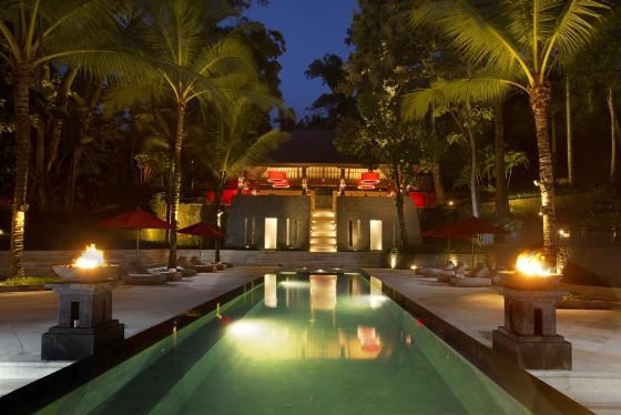 The Sanctuary 7BR,Grote en luxe villa  met privé zwembad in Canggu, op Bali, Indonesië voor 14 personen...