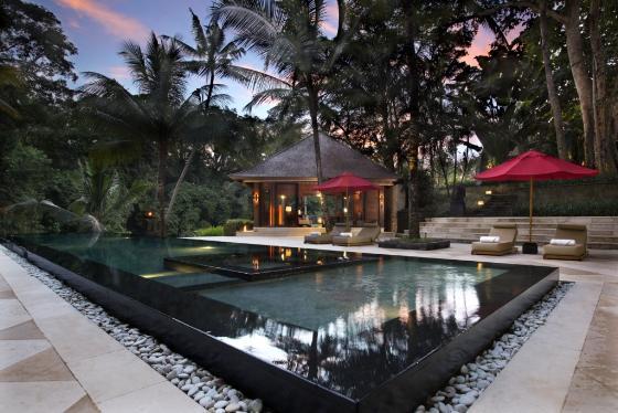 The sanctuary 6br,Grosse und Luxus Villa in Canggu, auf Bali, Indonesien  mit privatem Pool für 12 Personen...