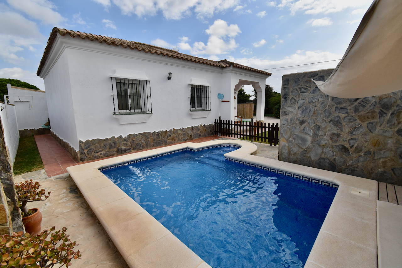 Los Rodriguez,Villa in Chiclana de la Frontera, Andalusia, Spain  with private pool for 6 persons.....