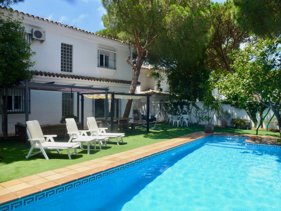 Estribor, Villa in Chiclana de la Frontera, Andalusia, Spain  with private pool for 8 persons.....