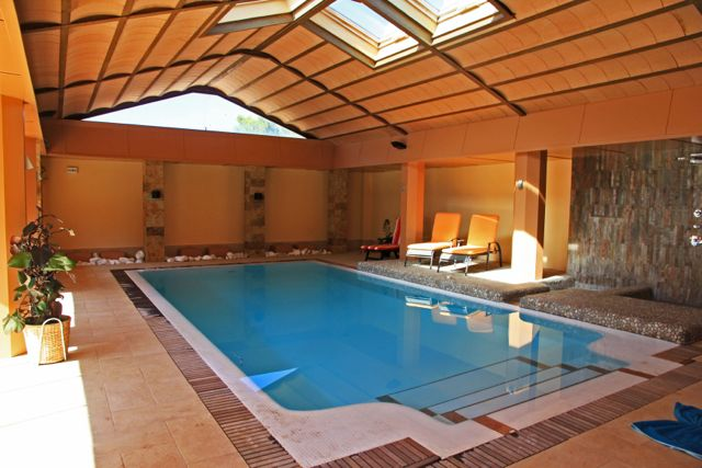 Gran Duque,Grosse Luxus Villa  mit beheiztem Pool in Chiclana de la Frontera, in Andalusien, Spanien für 11 Personen.....